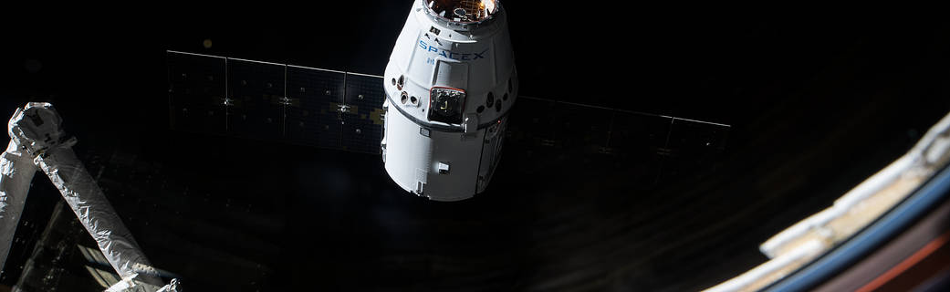 Return to Earth aboard SpaceX Dragon Spacecraft - Jaime Bonetti