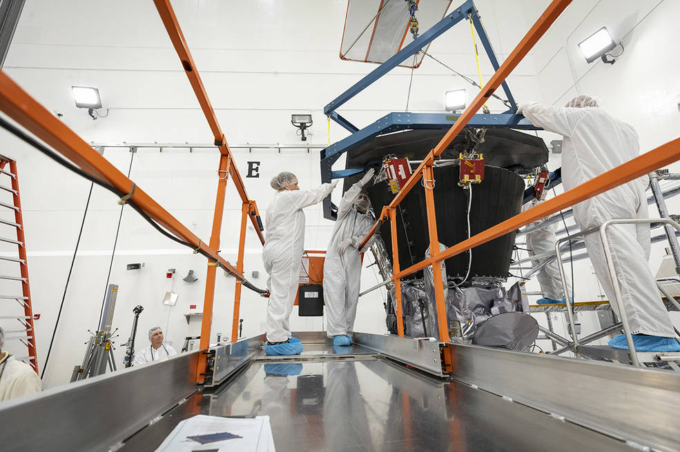 Cutting-Edge Heat Shield Installed on NASA's Parker Solar Probe Jaime Bonetti Zeller