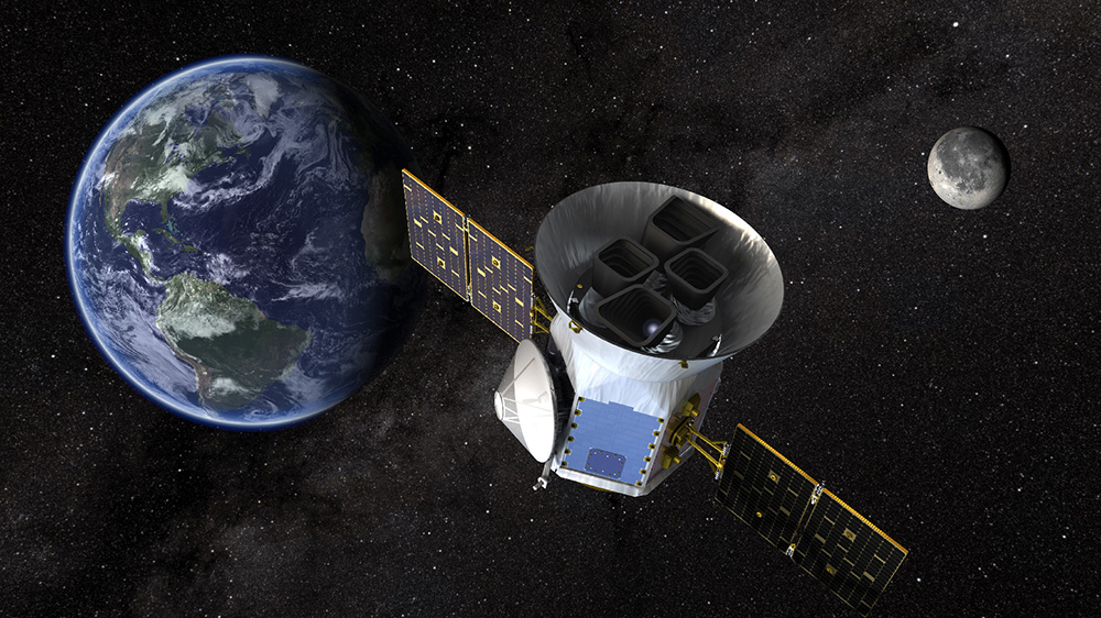 NASA's TESS Spacecraft Searches for Faraway Planets - Jaime Bone