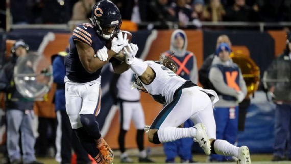 Catch, fumble? Rule says incomplete pass for Bears - Jaime Bonet