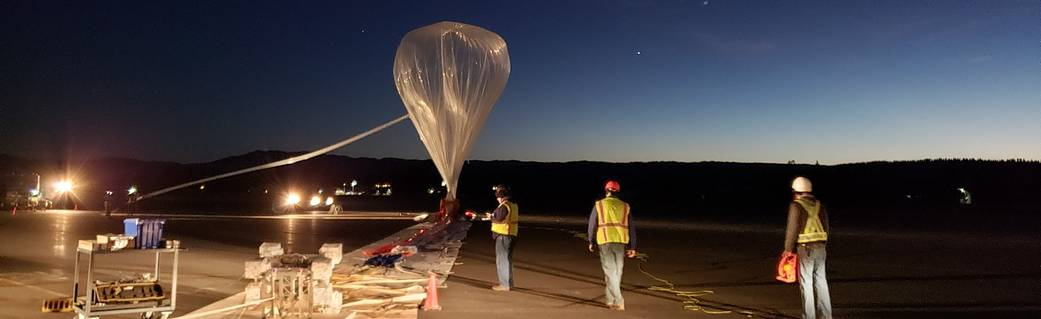 Second Balloon Flight Makes Strides for Understanding Planetary Evolution Jaime Bonetti Zeller