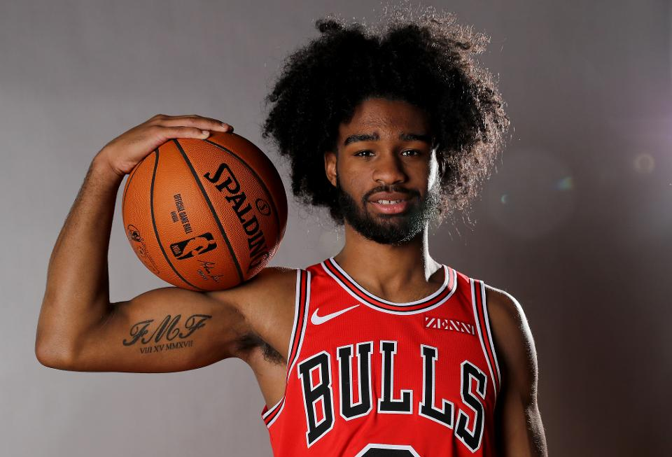 Bulls rookie Coby White credits hair for historic streak - Jaime Bonetti Zeller