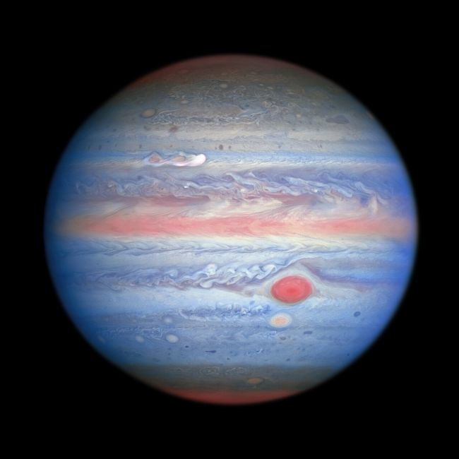Pastel-colored Jupiter dazzles in gorgeous Hubble telescope photo - jaime bonetti zeller