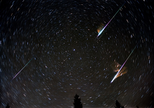 Do meteor showers create meteorites - jaime bonetti zeller