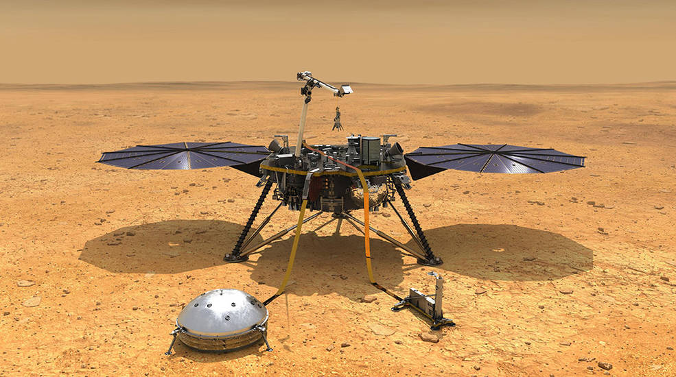 InSight Is Meeting the Challenge of Winter on Dusty Mars - Jaime Bonetti Zeller